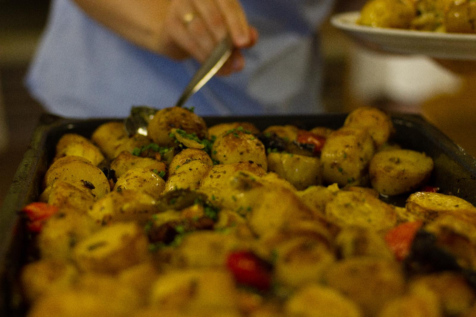 Geschmorte Kartoffeln