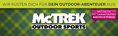 Wir rüsten dich für dein Outdoor-Abenteuer aus! McTreck Outoor Sports